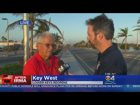 "Keys Mayor Expects Residents To ""Make Adult Decisions"" Upon Return"