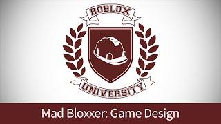 Mad Bloxxer 1: enVision e projetar seu jogo (ROBLOX U tutorial)