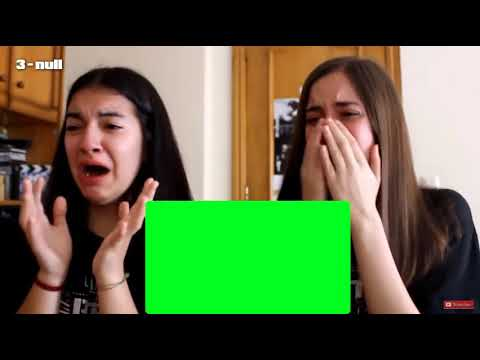 Green Screen 2 Girls Crying On A Bts Music Video Youtube