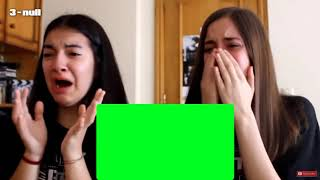 [Green Screen] 2 girls crying on a bts music video