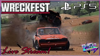 WreckFest PS5 Live Stream with Twisted Gaming! PS4 PS5