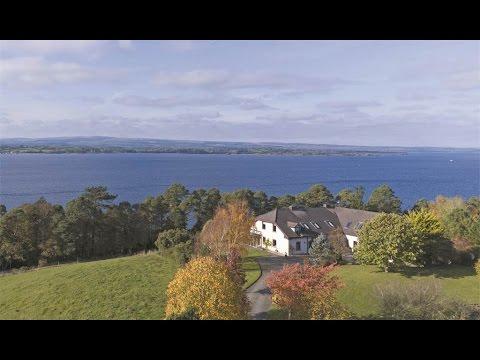 An Enchanting Lakeside Residence in Puckane, Ireland