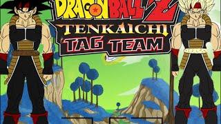 DBZ TTT MOD Evil Bardock SSJ Unmasked  VS Evil Bardock Base Unmasked