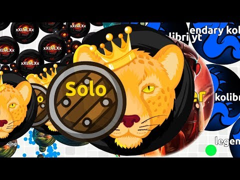 EXTREME SOLO WINS IN AGMA.IO ( Game Like Agar.io )