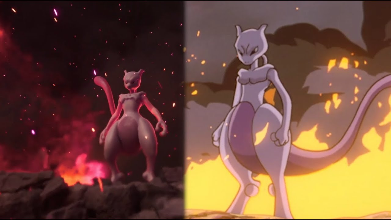 Mewtwo Is Back Pokemon Mewtwo Strikes Back Evolution Now On