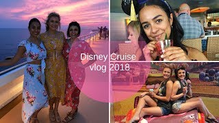 Disney Cruise 2018 | Day 1
