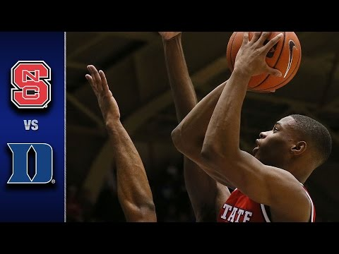 NC State vs. Duke Men's Basketball Highlights (2016-17)