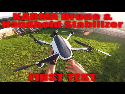 GoPro KARMA Drone & Handheld Stabilizer FIRST TEST