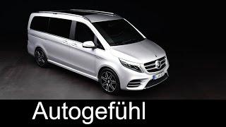 New Mercedes V 250 d 2017 Exterior Design - Autogefühl