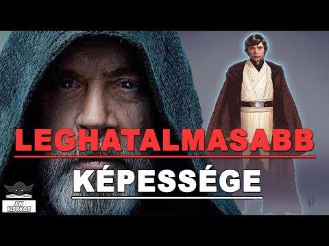 Luke Skywalker LEGHATALMASABB képessége (Kánon) | Star Wars Kisokos