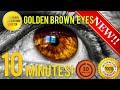 GET GOLDEN BROWN EYES IN 10 MINUTES SUBLIMINAL AFFIRMATIONS BOOSTER BIOKINESIS mp3