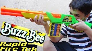 BuzzBee Rapid Fire Tek with Robert-Andre!