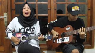 Cover ANJI-DIA Pakai Gitar dan Kentrung Asikk