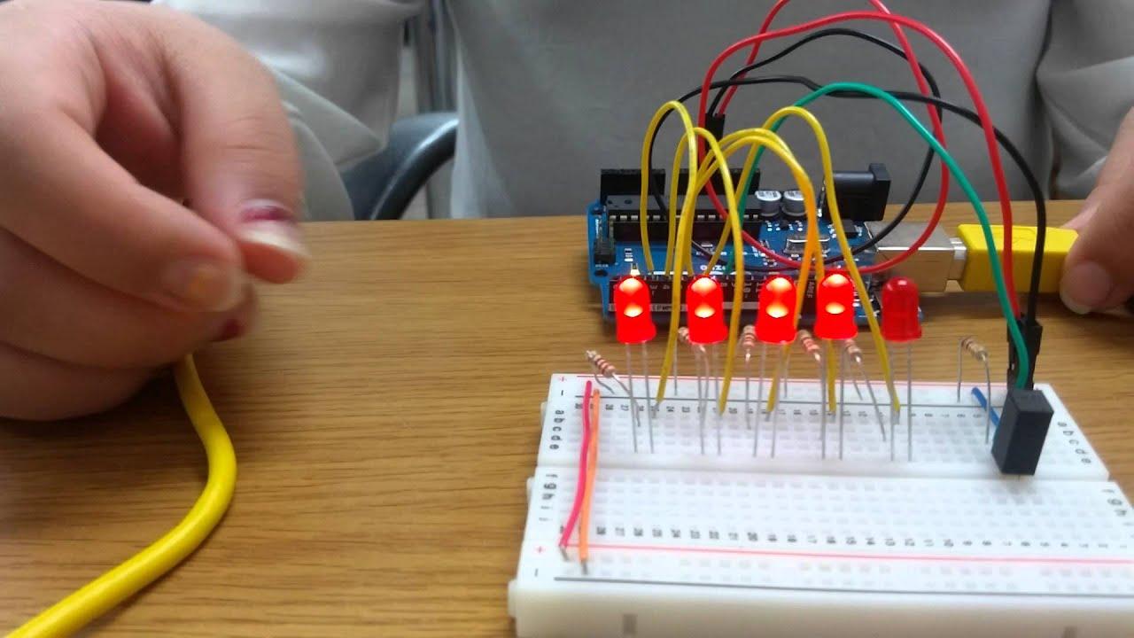 Arduino digital hourglass youtube