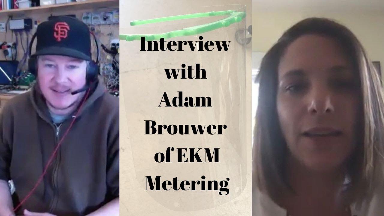 Interview with Adam of  EKM Metering