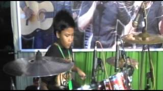 Jovi, 10 tahun, Drum Cover ( Nightmare - Avenged Sevenfold )
