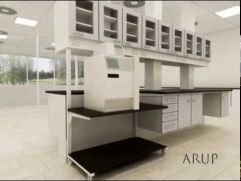 Interior 3D Animation of The Lab Of The Future