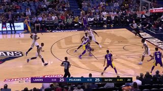 1st Quarter, One Box Video: New Orleans Pelicans vs. Los Angeles Lakers
