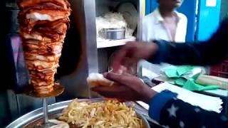 Chicken Shawarma | Indian street food|  Tasty Roadside food