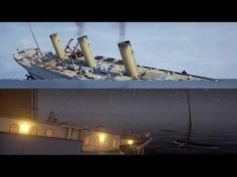 Titanic VS. Britannic Sinking