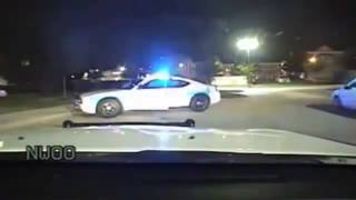 Texas Police Chase, Shooting and Car Crash