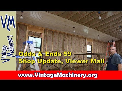 Odds & Ends 59:  Shop Update, Viewer Mail