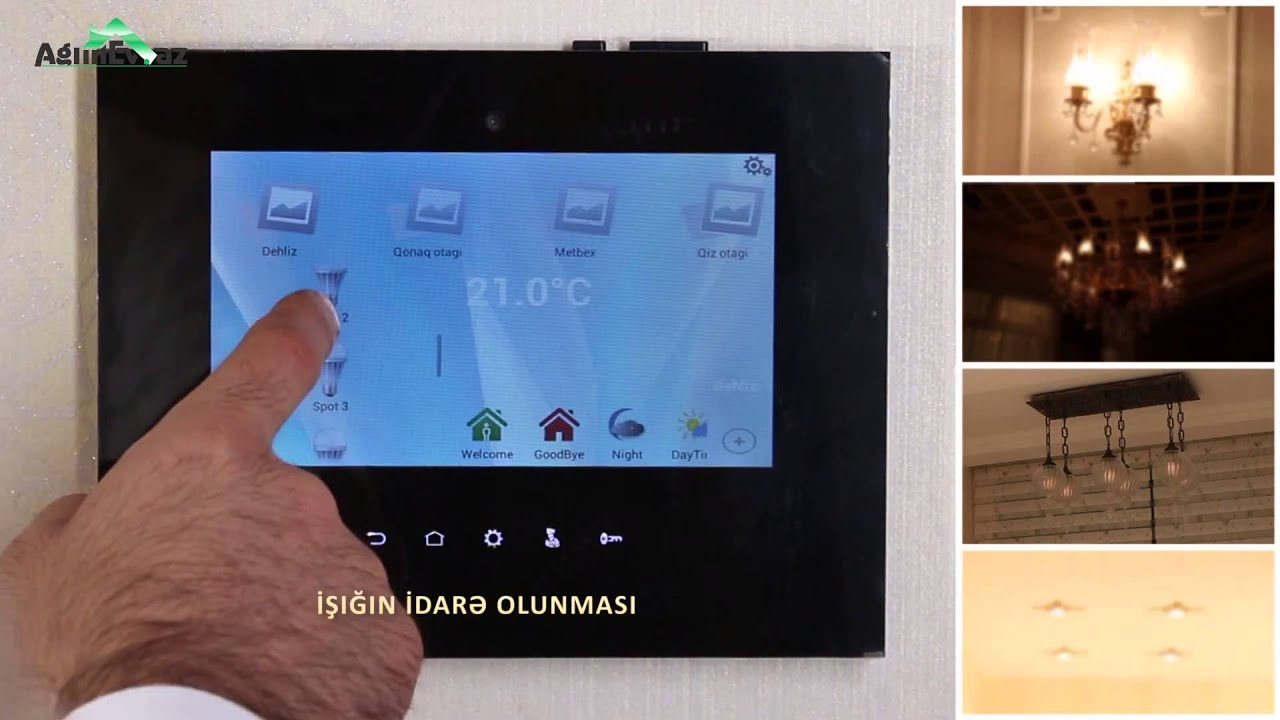 Videocom Smart Home Control By Android Touch Panel