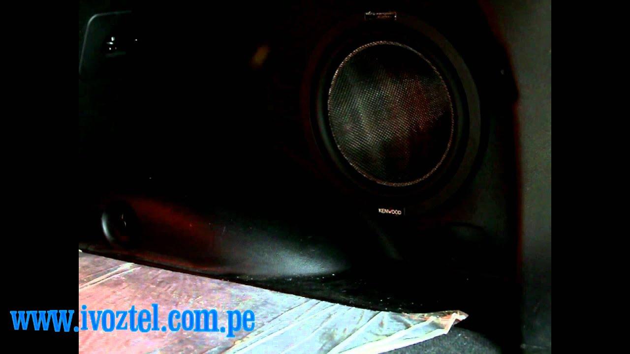 Subwoofer Tipo Original Kia Sportage 2011 Ivoztel Cars Mov Youtube