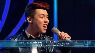 Vietnam Idol 2015 - Gala 2 - Mãi Mãi Bên Nhau - Nguyễn Duy