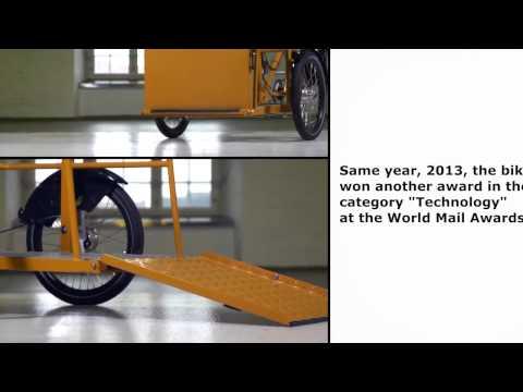 รถจักรยานไฟฟ้าสามล้อนำจ่าย ประเทศเดนมาร์ก