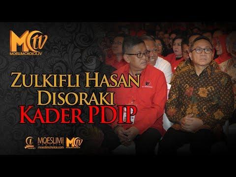 Zulkifli Hasan Disoraki Kader PDIP Mp3