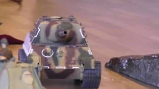 Hobby Fair 2017: RC Tank  JagdTiger not German Panther WWII