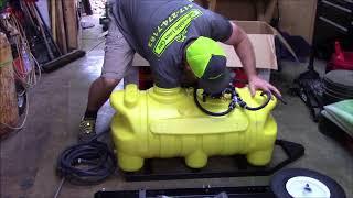 SMV 25 Gal. Trailer Sprayer - Unboxing