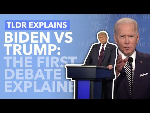 Biden Vs Trump: The First Debate Highlights Explained - TLDR News