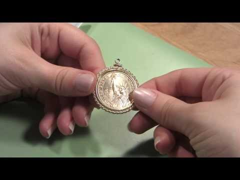 How To Mount A Coin Into A Coin Bezel Frame