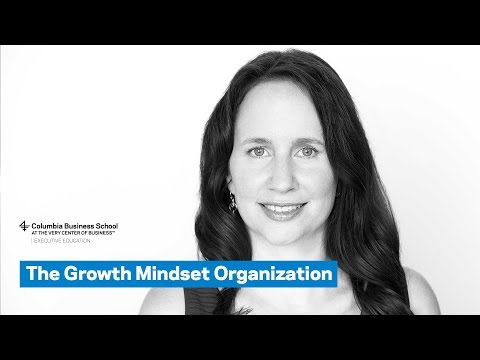 The Growth Mindset Organization