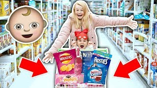 KiDS GROCERY SHOPPiNG CHALLENGE!