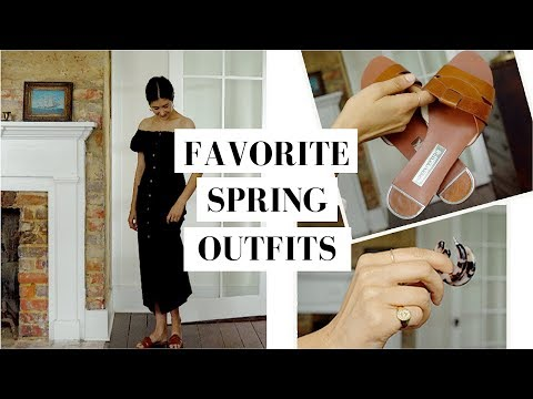 My Most Worn Spring Capsule Outfits  Classic & Neutral