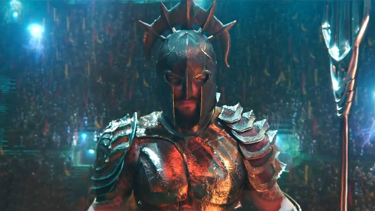 A still from the movie Aquaman
