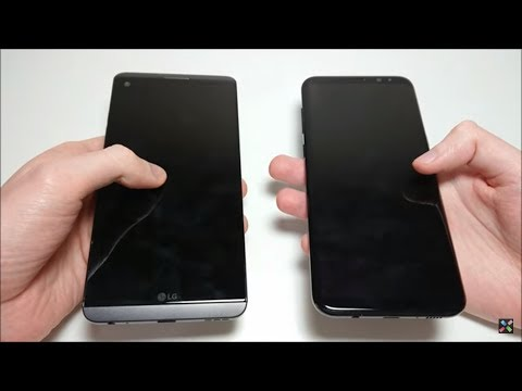 Samsung Galaxy S8 Plus vs LG V20 Speed Test!