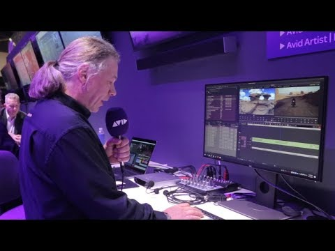 LIVE FROM #AVID AT #NABSHOW | Upcoming new features in Media Composer