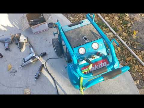 Makita MAC5200 3HP 5.2 gallon Portable Air Compressor Review 1 of 2