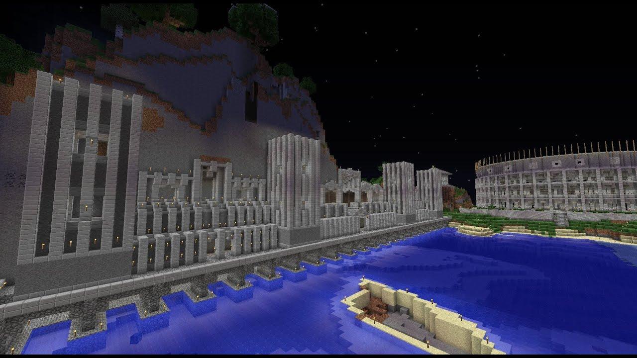 Minecraft White Dwarf Fortress - YouTube
