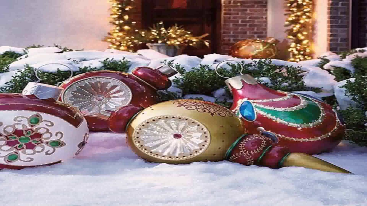diy outdoor lawn christmas decorations