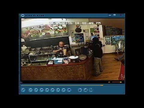 New Zealand kebab shop owner blanks armed robber