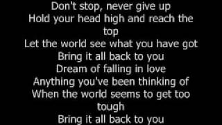 Bring It All Back - S Club 7 with lyrics