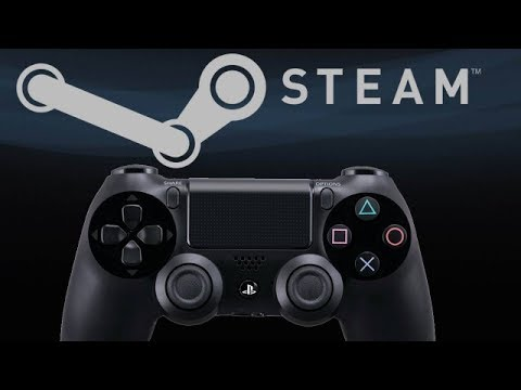 how to connect ps4 controller to pc with steam