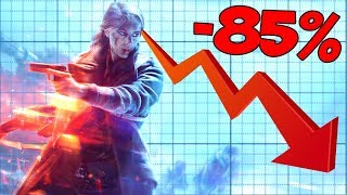 Battlefield V Pre-Orders 85% LOWER than Black Ops 4...