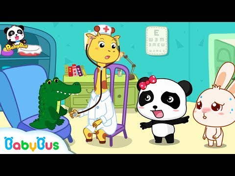 Doctor! Something Wrong with Momo's Nose |  Good Habits | Picture Book Cartoon for Kids | BabyBus