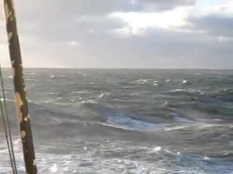 bg dublin at irish sea stormy weather